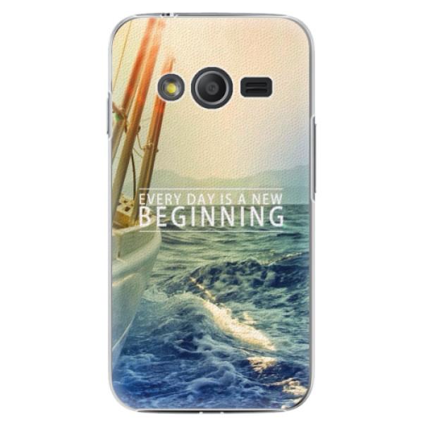 Plastové pouzdro iSaprio - Beginning - Samsung Galaxy Trend 2 Lite