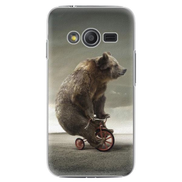 Plastové pouzdro iSaprio - Bear 01 - Samsung Galaxy Trend 2 Lite