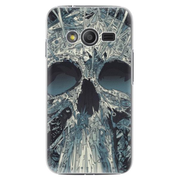 Plastové pouzdro iSaprio - Abstract Skull - Samsung Galaxy Trend 2 Lite