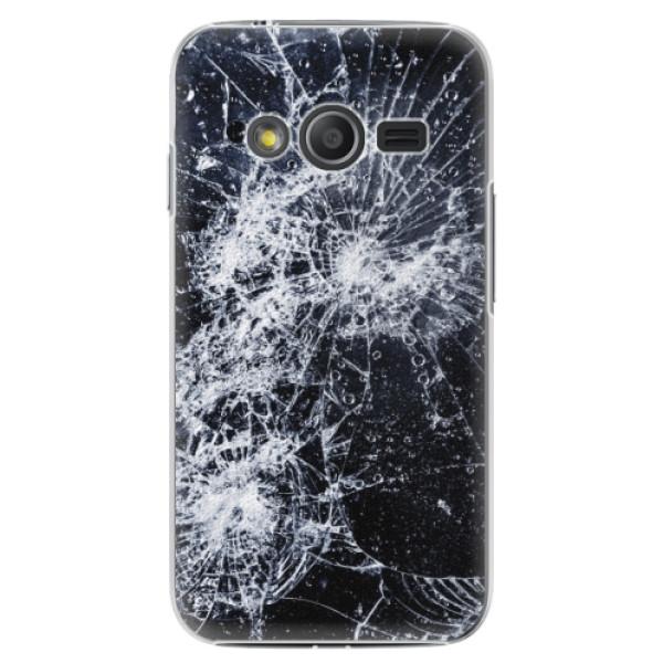 Plastové pouzdro iSaprio - Cracked - Samsung Galaxy Trend 2 Lite