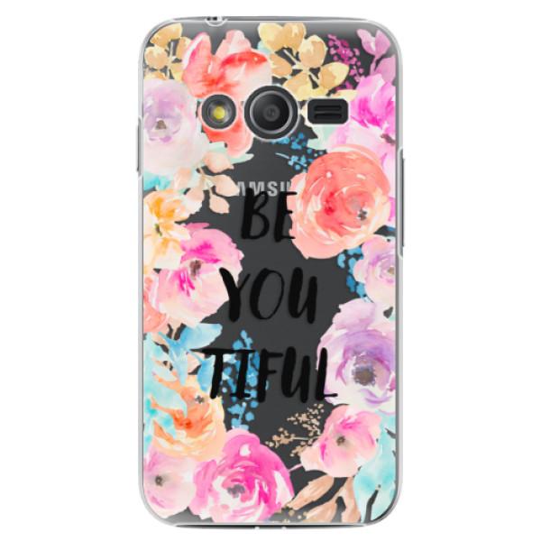 Plastové pouzdro iSaprio - BeYouTiful - Samsung Galaxy Trend 2 Lite