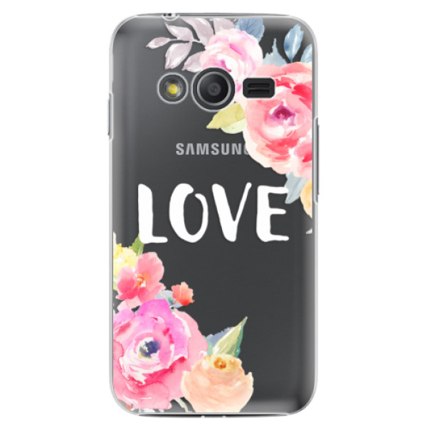 Plastové pouzdro iSaprio - Love - Samsung Galaxy Trend 2 Lite