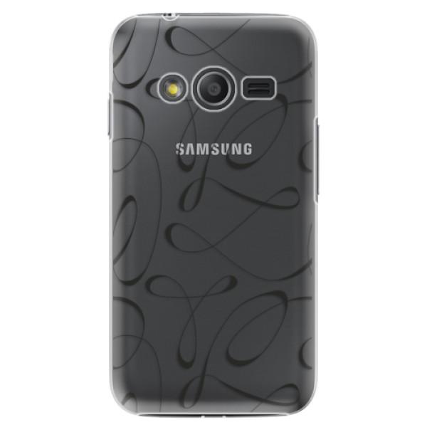 Plastové pouzdro iSaprio - Fancy - black - Samsung Galaxy Trend 2 Lite