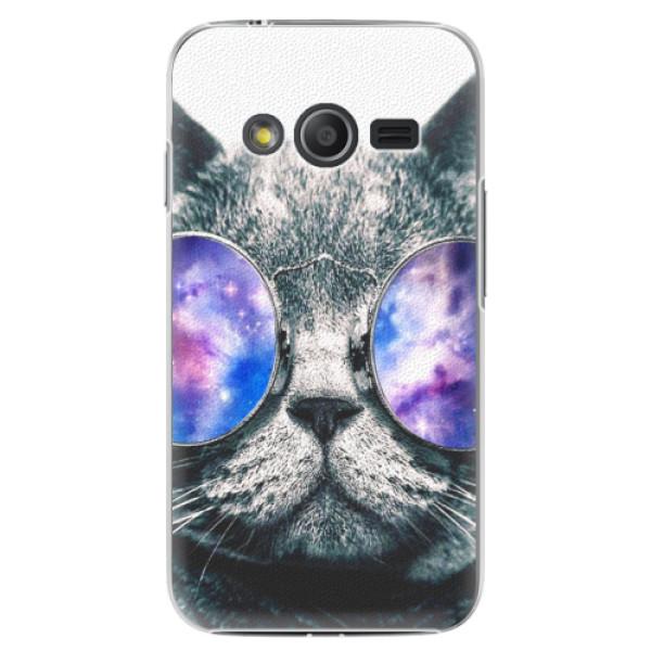 Plastové pouzdro iSaprio - Galaxy Cat - Samsung Galaxy Trend 2 Lite