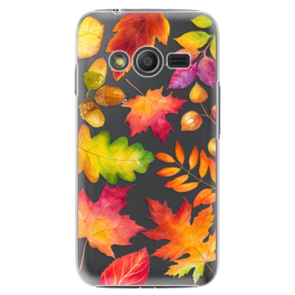 Plastové pouzdro iSaprio - Autumn Leaves 01 - Samsung Galaxy Trend 2 Lite