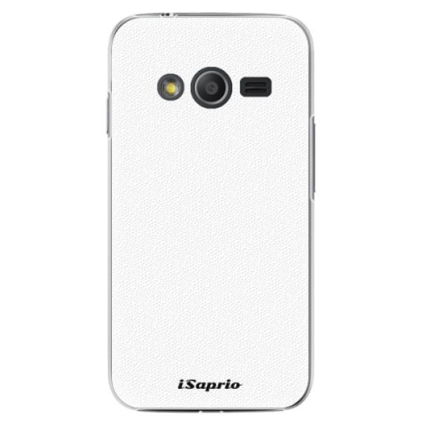 Plastové pouzdro iSaprio - 4Pure - bílý - Samsung Galaxy Trend 2 Lite