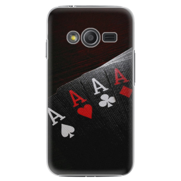 Plastové pouzdro iSaprio - Poker - Samsung Galaxy Trend 2 Lite