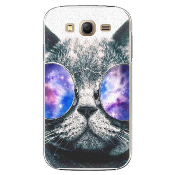 Plastové pouzdro iSaprio - Galaxy Cat - Samsung Galaxy Grand Neo Plus