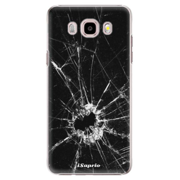 Plastové pouzdro iSaprio - Broken Glass 10 - Samsung Galaxy J5 2016