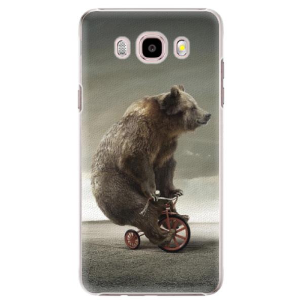Plastové pouzdro iSaprio - Bear 01 - Samsung Galaxy J5 2016