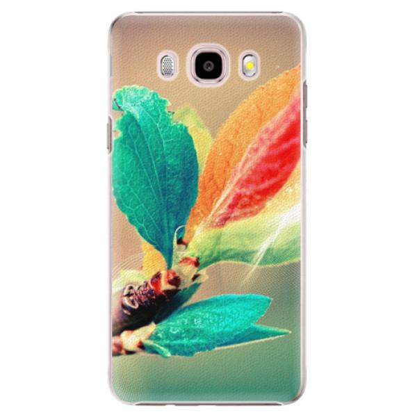 Plastové pouzdro iSaprio - Autumn 02 - Samsung Galaxy J5 2016