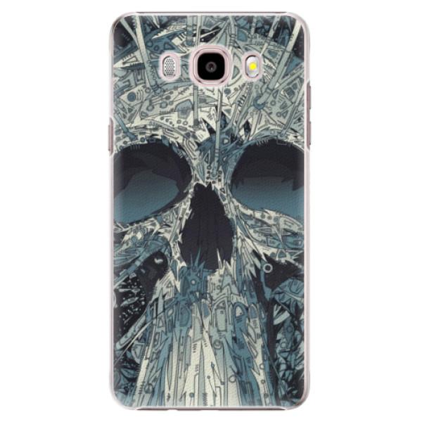 Plastové pouzdro iSaprio - Abstract Skull - Samsung Galaxy J5 2016