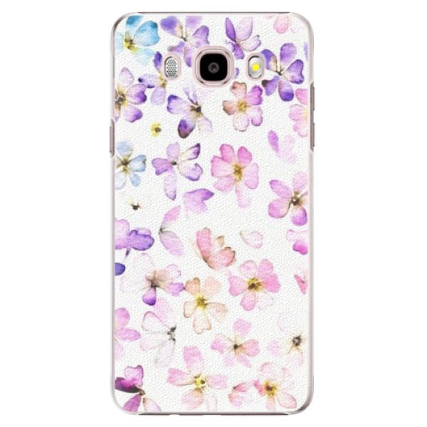 Plastové pouzdro iSaprio - Wildflowers - Samsung Galaxy J5 2016