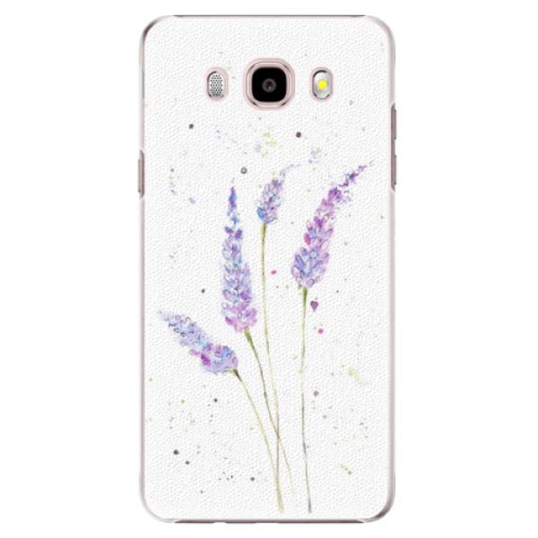 Plastové pouzdro iSaprio - Lavender - Samsung Galaxy J5 2016
