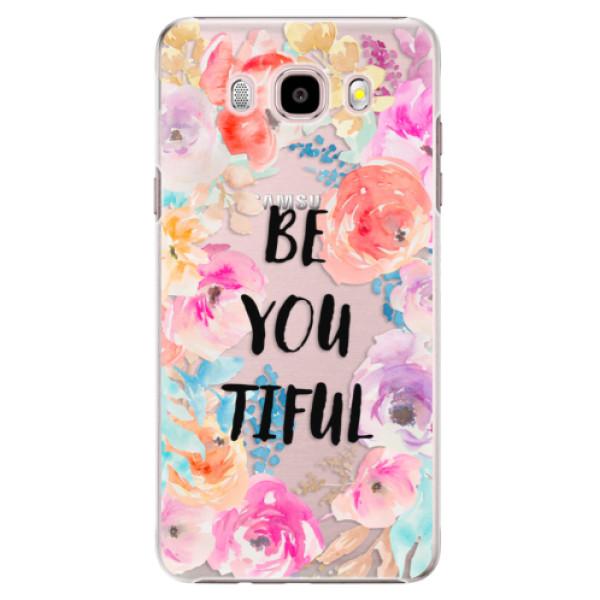 Plastové pouzdro iSaprio - BeYouTiful - Samsung Galaxy J5 2016