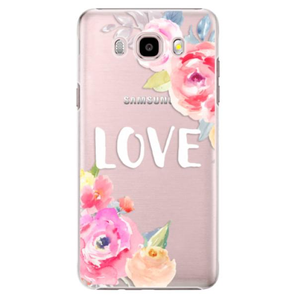 Plastové pouzdro iSaprio - Love - Samsung Galaxy J5 2016