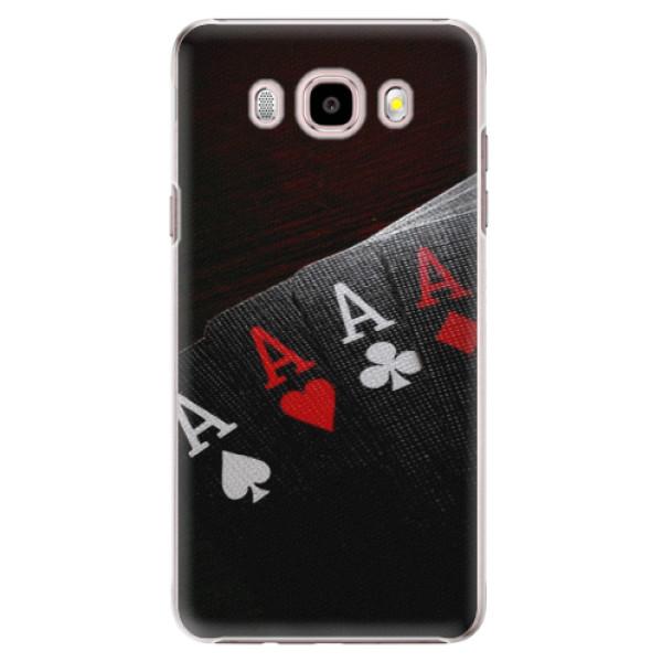 Plastové pouzdro iSaprio - Poker - Samsung Galaxy J5 2016