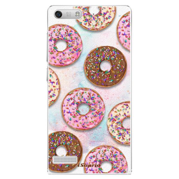 Plastové pouzdro iSaprio - Donuts 11 - Huawei Ascend G6