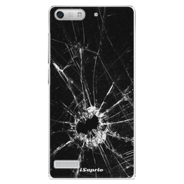 Plastové pouzdro iSaprio - Broken Glass 10 - Huawei Ascend G6