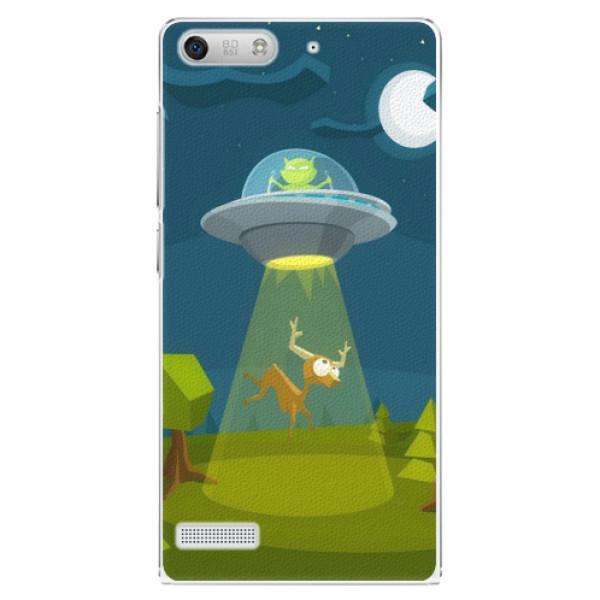 Plastové pouzdro iSaprio - Alien 01 - Huawei Ascend G6