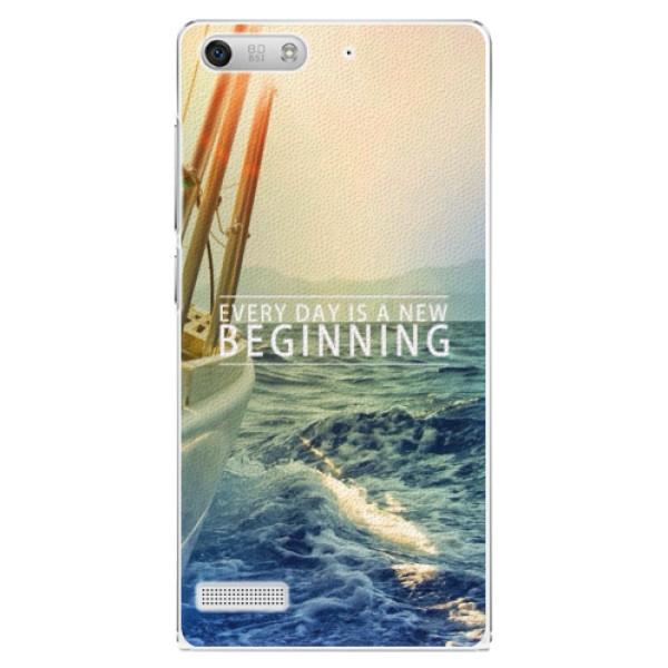 Plastové pouzdro iSaprio - Beginning - Huawei Ascend G6