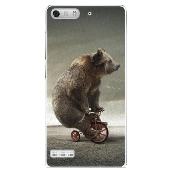 Plastové pouzdro iSaprio - Bear 01 - Huawei Ascend G6