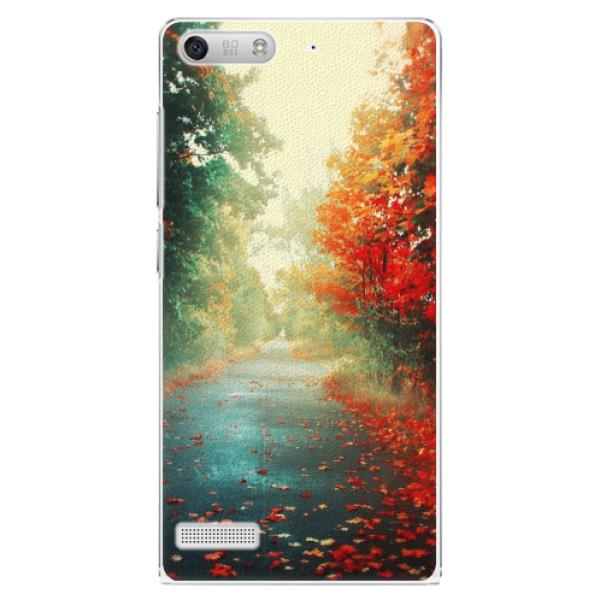 Plastové pouzdro iSaprio - Autumn 03 - Huawei Ascend G6