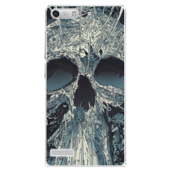 Plastové pouzdro iSaprio - Abstract Skull - Huawei Ascend G6