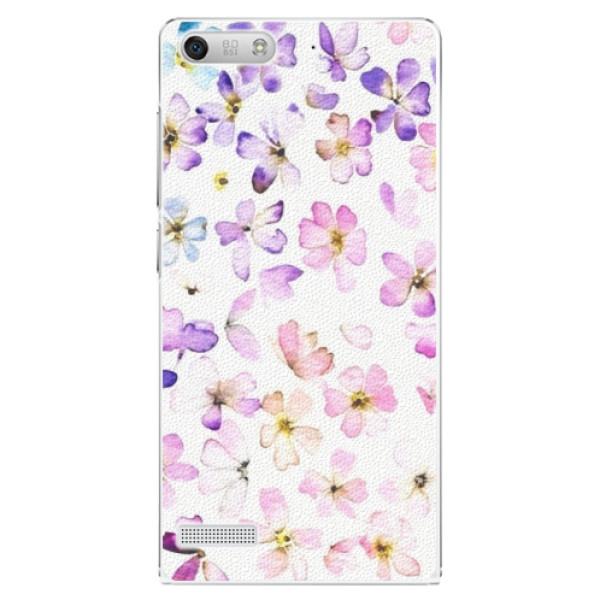 Plastové pouzdro iSaprio - Wildflowers - Huawei Ascend G6