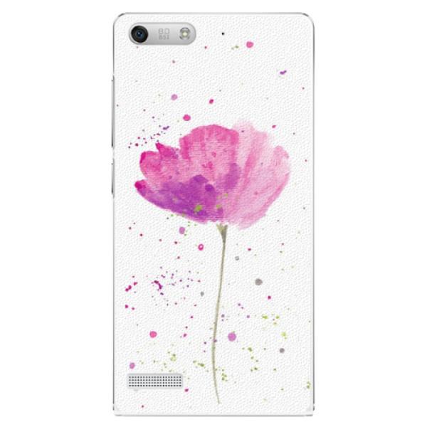 Plastové pouzdro iSaprio - Poppies - Huawei Ascend G6