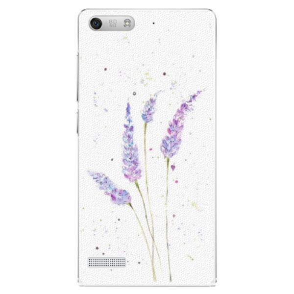 Plastové pouzdro iSaprio - Lavender - Huawei Ascend G6