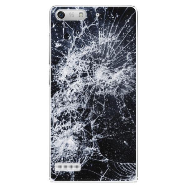 Plastové pouzdro iSaprio - Cracked - Huawei Ascend G6