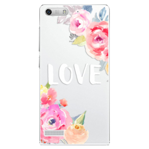 Plastové pouzdro iSaprio - Love - Huawei Ascend G6