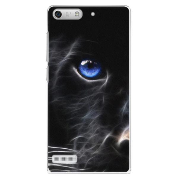 Plastové pouzdro iSaprio - Black Puma - Huawei Ascend G6