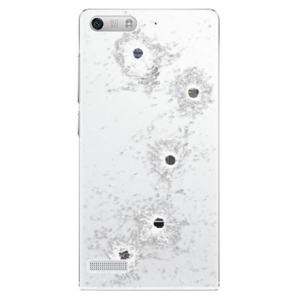 Plastové pouzdro iSaprio - Gunshots - Huawei Ascend G6