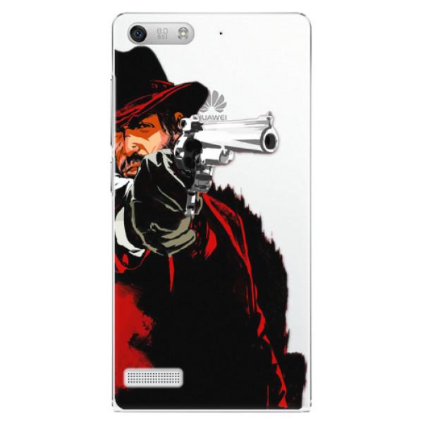 Plastové pouzdro iSaprio - Red Sheriff - Huawei Ascend G6
