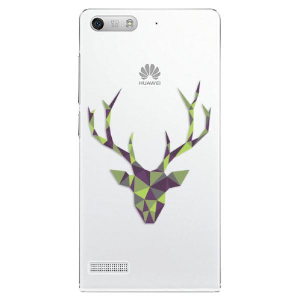 Plastové pouzdro iSaprio - Deer Green - Huawei Ascend G6