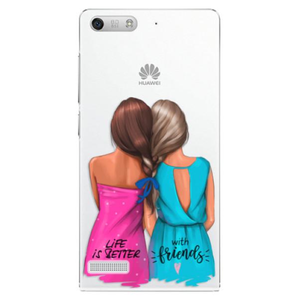Plastové pouzdro iSaprio - Best Friends - Huawei Ascend G6
