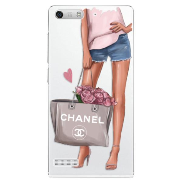 Plastové pouzdro iSaprio - Fashion Bag - Huawei Ascend G6