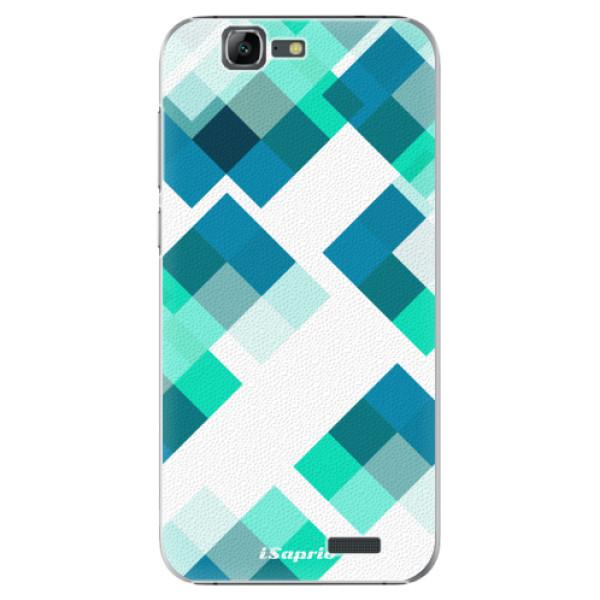 Plastové pouzdro iSaprio - Abstract Squares 11 - Huawei Ascend G7