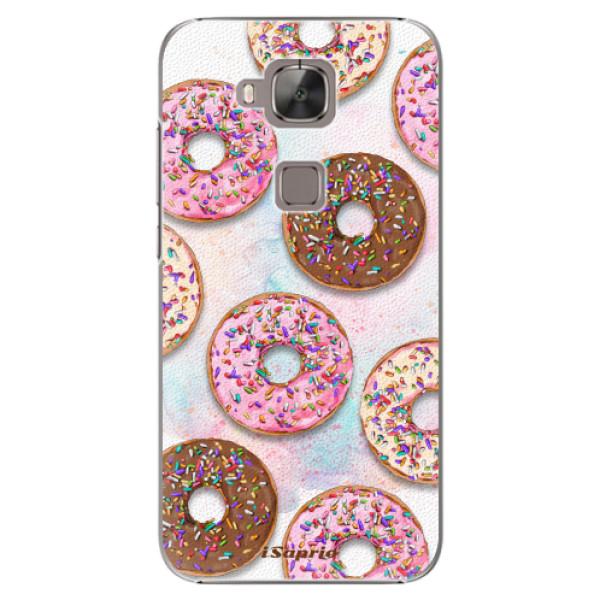 Plastové pouzdro iSaprio - Donuts 11 - Huawei Ascend G8