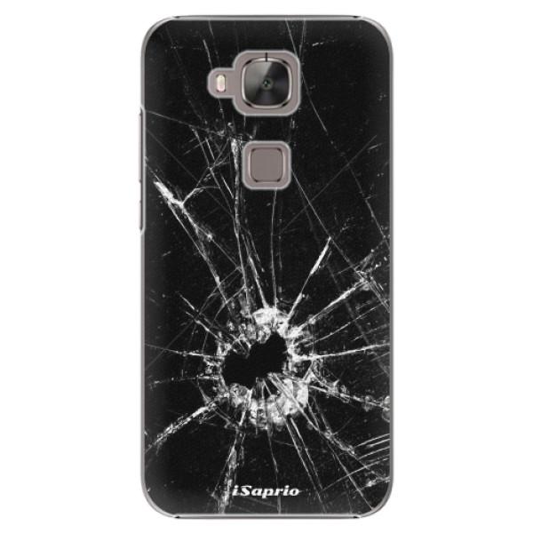 Plastové pouzdro iSaprio - Broken Glass 10 - Huawei Ascend G8