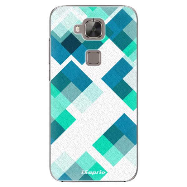 Plastové pouzdro iSaprio - Abstract Squares 11 - Huawei Ascend G8