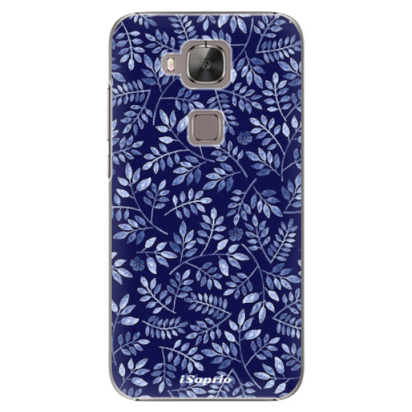 Plastové pouzdro iSaprio - Blue Leaves 05 - Huawei Ascend G8