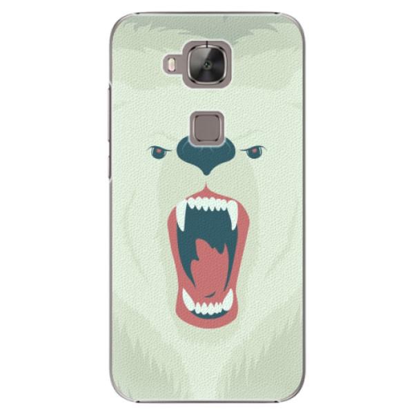 Plastové pouzdro iSaprio - Angry Bear - Huawei Ascend G8