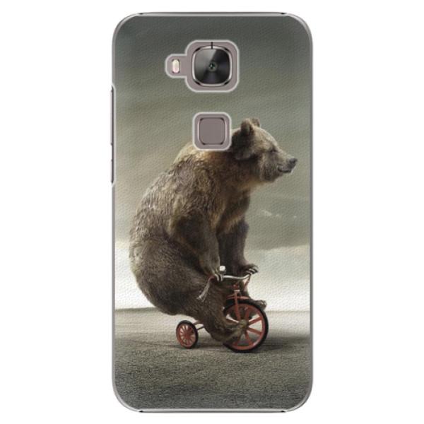 Plastové pouzdro iSaprio - Bear 01 - Huawei Ascend G8