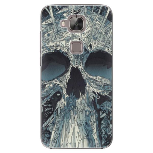Plastové pouzdro iSaprio - Abstract Skull - Huawei Ascend G8