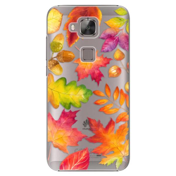 Plastové pouzdro iSaprio - Autumn Leaves 01 - Huawei Ascend G8