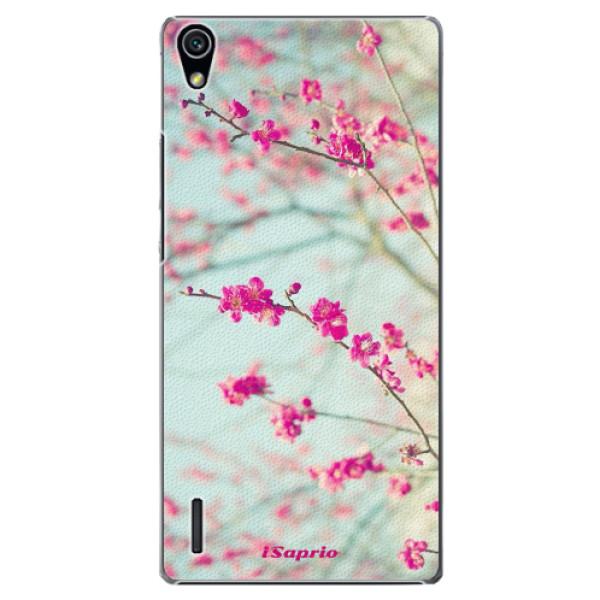 Plastové pouzdro iSaprio - Blossom 01 - Huawei Ascend P7