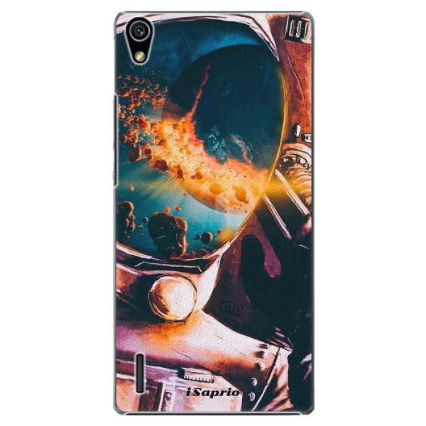 Plastové pouzdro iSaprio - Astronaut 01 - Huawei Ascend P7